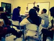 suasana diskusi